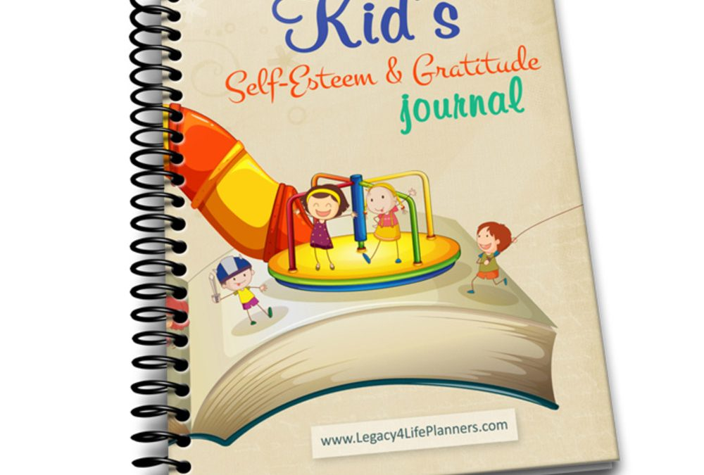 Kid's Self-Esteem and Gratitude Journal